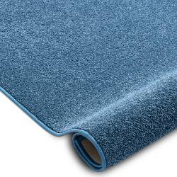 Килим SANTA FE син 74 обикновен плътен цвят
