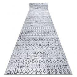 Пътека Structural SIERRA G6042 плоски тъкани сив - геометричен, етнически