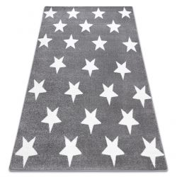 Килим SKETCH – FA68 сиво/бяло – звезди
