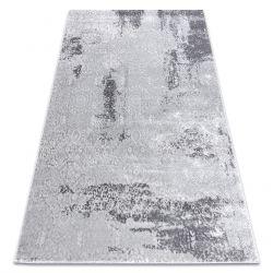 модерен килим MEFE 8731 Vintage - structural две нива на руно сив