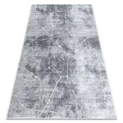 модерен килим MEFE 2783 мрамор - structural две нива на руно сив