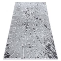 модерен килим MEFE 2784 Дърво - structural две нива на руно сив