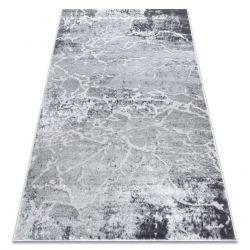 модерен килим MEFE 6182 бетон - structural две нива на руно сив