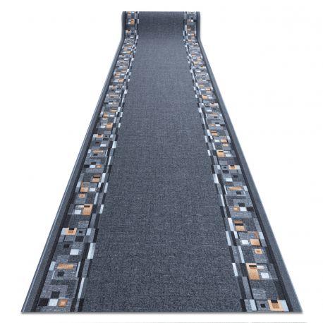 Пътеки противоплъзгаща основа BOMBAY сиво