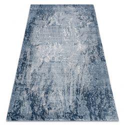 Килим AKRYL VALS 0W9993 C54 52 абстракция светло синьо / светло сив