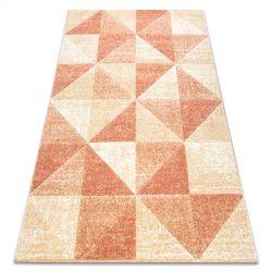Килим FEEL 5672/17911 триъгълници бежов/теракота