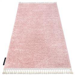 Килим BERBER 9000 розов шаги ресни