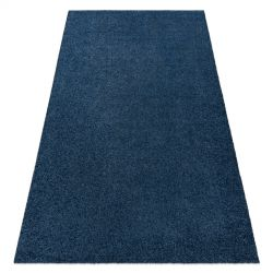 Модерен килим за пране ILDO 71181090 тъмно синьо