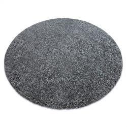 Модерен килим за пране ILDO 71181070 кръг antracit сив