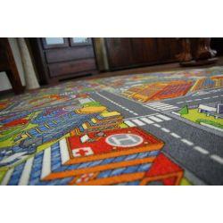 мокети килим улици голям град сив
