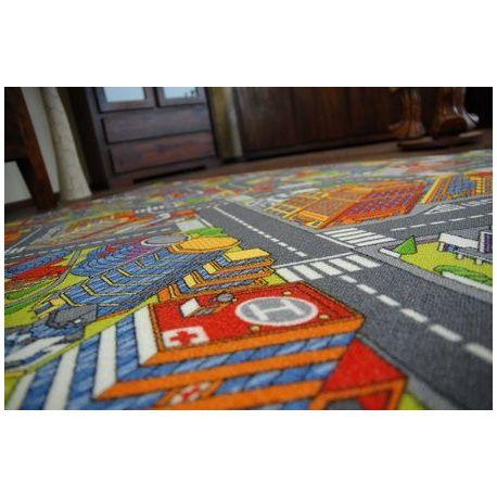 мокети килим улици голям град сиво