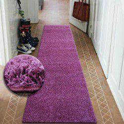 килим бегач SHAGGY 5cm виолетов