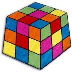 Килим PAINT шестоъгълник – 1546 синьо