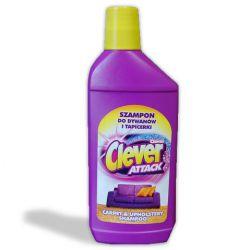 шампоан от килим и тапицерия CLEVER 500ml