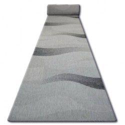 Пътеки SIZAL FLOORLUX модел 20212 сребро/черно