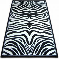 Килим FOCUS – 9032 ЗЕБРА черно/бяло