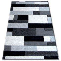 Килим PILLY H201-8403 – черно/сребро