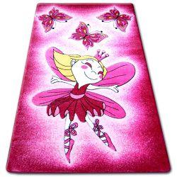 Килим детски HAPPY C123 розово фея