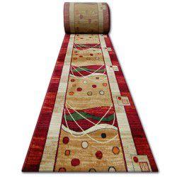 килим бегач HEAT-SET PRIMO 4626 червено