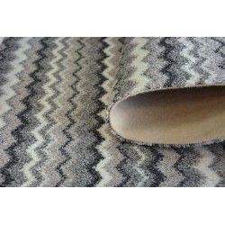 мокети килим ZIGZAG сиво 0093