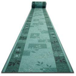 килим бегач противоплъзгаща основа AGADIR зелено