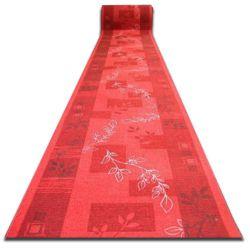 килим бегач противоплъзгаща основа AGADIR червено
