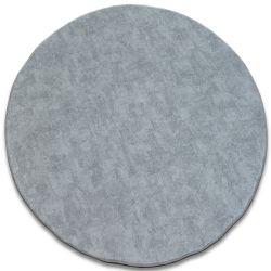 Килим кръг POZZOLANA сребро