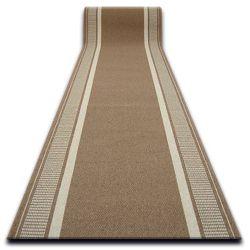 дебел килим бегач противоплъзгаща основа TRENDY бежово